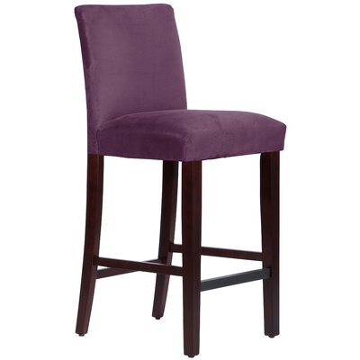 Connery 31 Bar Stool Body Fabric: Premier Purple