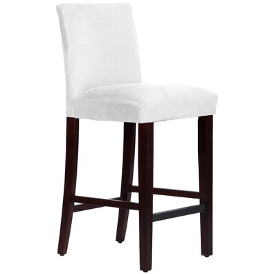 Connery 31 Bar Stool Body Fabric: Premier White