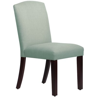 Nadia Parsons Chair Body Fabric: Linen Swedish Blue