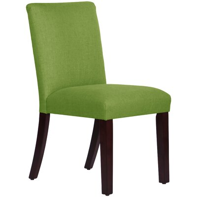 Connery Parsons Chair Body Fabric: Linen Kelly Green