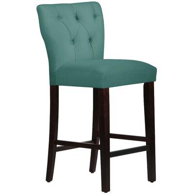 Evelina 31 Bar Stool Upholstery: Premier Tidepool