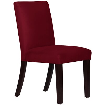 Connery Parsons Chair Body Fabric: Velvet Berry