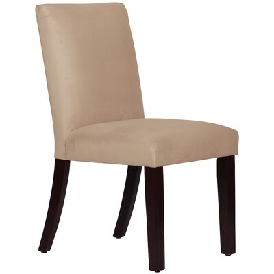Connery Parsons Chair Body Fabric: Velvet Pearl