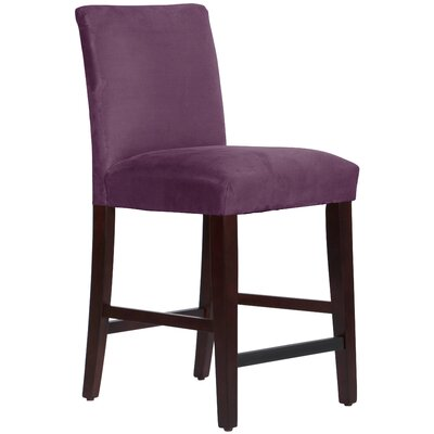 Connery 26 Bar Stool Body Fabric: Premier Purple