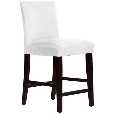 Connery 26 Bar Stool Body Fabric: Premier White