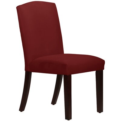 Nadia Parsons Chair Body Fabric: Velvet Berry