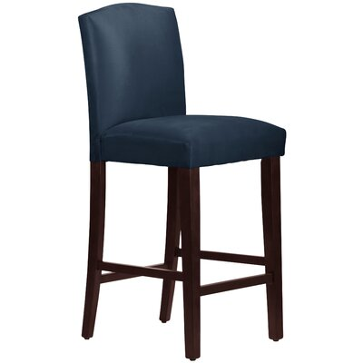 Nadia 31 Bar Stool Body Fabric: Premier Navy