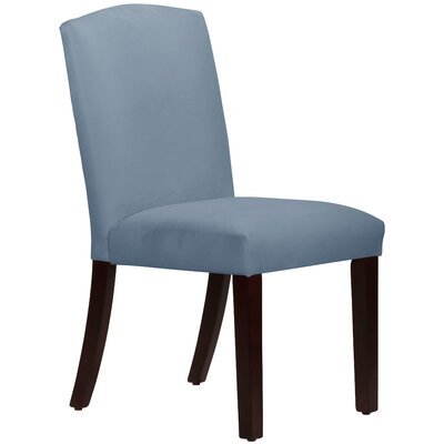 Nadia Parsons Chair Body Fabric: Velvet Ocean