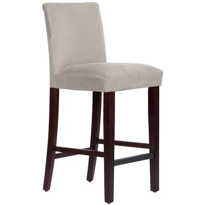 Connery 31 Bar Stool Body Fabric: Premier Platinum
