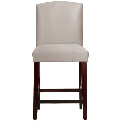 Nadia 26 Bar Stool Body Fabric: Premier Platinum