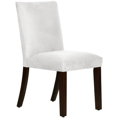 Connery Parsons Chair Body Fabric: Premier White