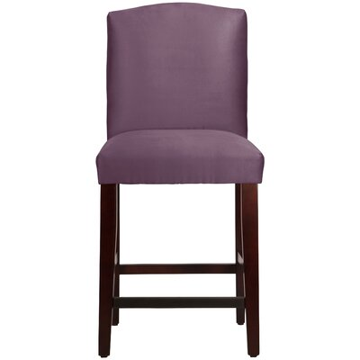 Nadia 26 Bar Stool Body Fabric: Premier Purple