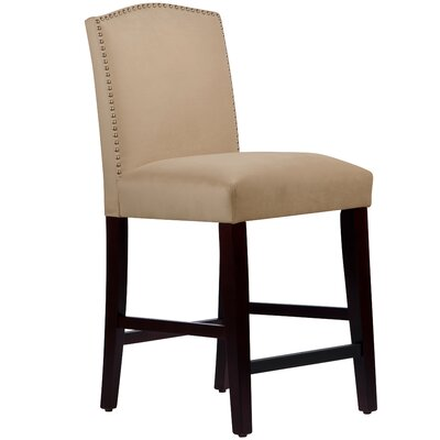Nadia 26 Bar Stool Body Fabric: Velvet Pearl