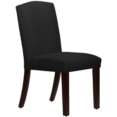 Nadia Parsons Chair Body Fabric: Velvet Black