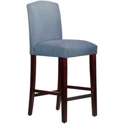Nadia 31 Bar Stool Body Fabric: Velvet Ocean