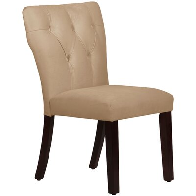 Evelina Parsons Chair Body Fabric: Velvet Pearl