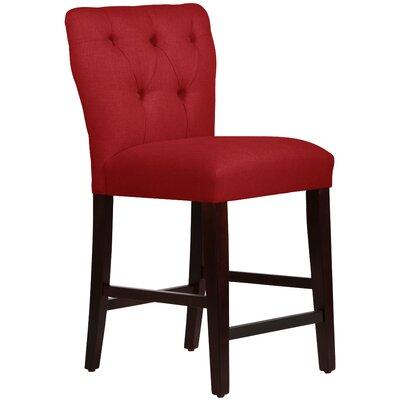 Evelina 26 Bar Stool Upholstery: Upholstery