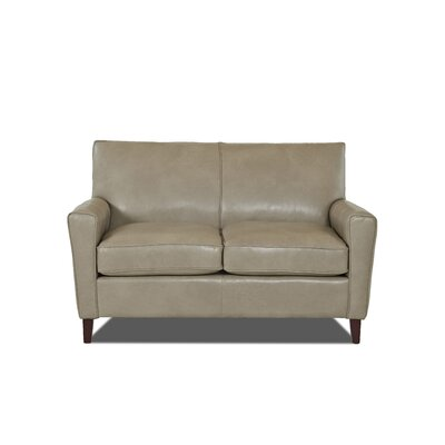 Grayson Loveseat Body Fabric: Steamboat Putty