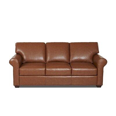Rachel Sleeper Body Fabric: Durango Acorn, Leather Application: Leather Top
