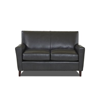 Grayson Loveseat Body Fabric: Steamboat Charcoal