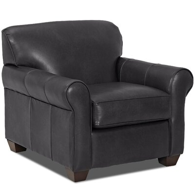 Jennifer Club Chair Body Fabric: Steamboat Charcoal