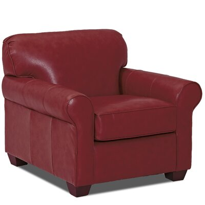 Jennifer Club Chair Body Fabric: Durango Strawberry