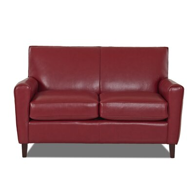 Grayson Loveseat Body Fabric: Durango Strawberry