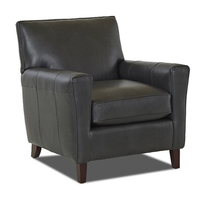 Grayson Armchair Body Fabric: Steamboat Charcoal