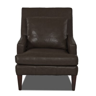 Grant Club Chair Body Fabric: Durango Espresso
