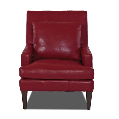 Grant Club Chair Body Fabric: Durango Strawberry