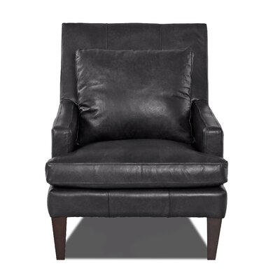 Grant Club Chair Body Fabric: Steamboat Charcoal