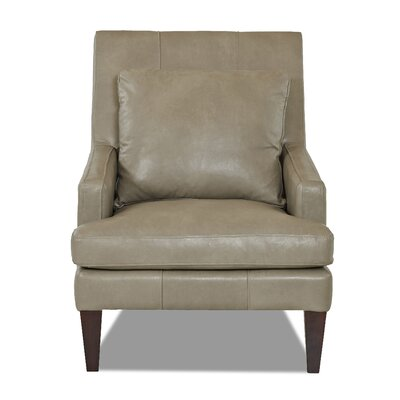 Grant Club Chair Body Fabric: Steamboat Putty