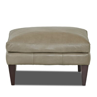 Grant Ottoman Body Fabric: Steamboat Putty
