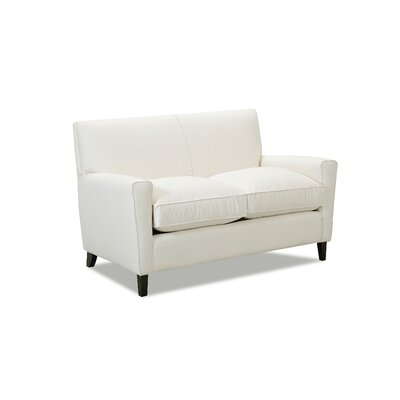Grayson Loveseat Body Fabric: Glynnlinen Optic White