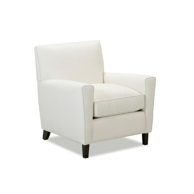 Grayson Armchair Body Fabric: Classic Bleach White