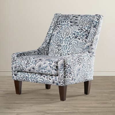 Addison Slipper Chair Upholstery: Miyuki Midnight