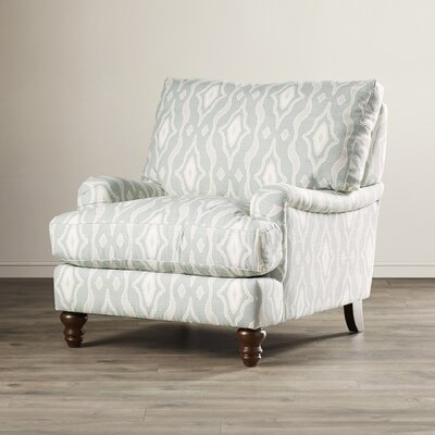 Delphine Arm Chair Upholstery: Mattie Spa