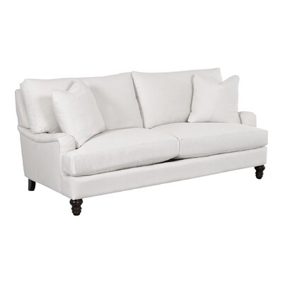 Delphine Sofa Body Fabric: Spinnsol Azure