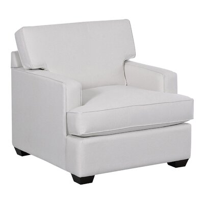 Avery Arm Chair Body Fabric: Curious Silver
