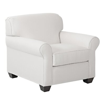 Jennifer Arm Chair Upholstery: Pebble Ivory