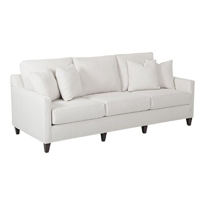 Spencer Sofa Body Fabric: Pebble Ivory
