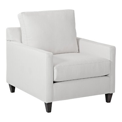 Spencer Arm Chair Body Fabric: Godiva Putty
