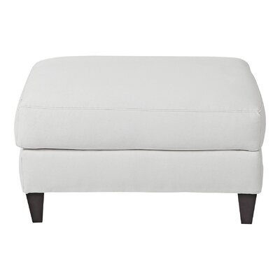Maxine Ottoman Body Fabric: Spinnsol Optic White