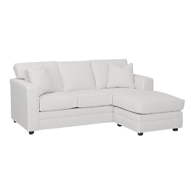 Wayfair Custom Upholstery CSTM1991 29664122 Andrew Reversible Chaise Sectional Upholstery