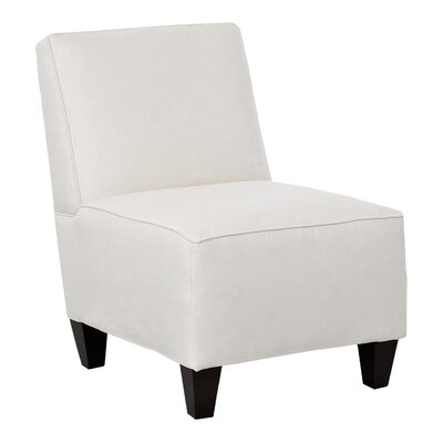 Jessalyn Slipper Chair Body Fabric: Godiva Nile