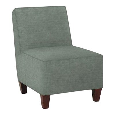 Jessalyn Slipper Chair Body Fabric: Lizzy Surf