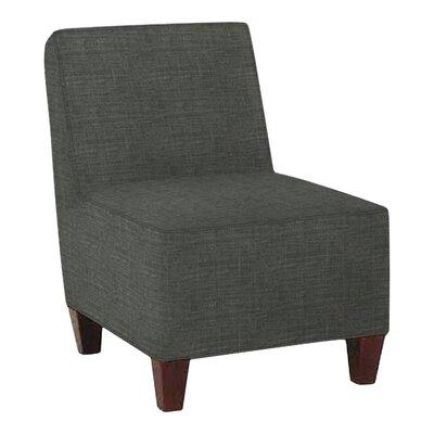 Jessalyn Slipper Chair Body Fabric: Lizzy Graphite