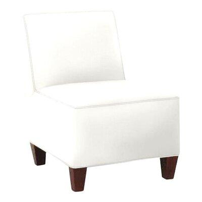 Jessalyn Slipper Chair Body Fabric: Classic Bleach White