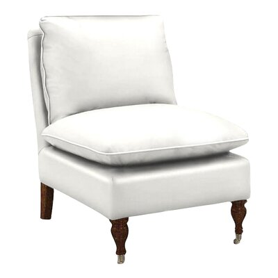 Katherine Slipper Chair Body Fabric: Classic Bleach White
