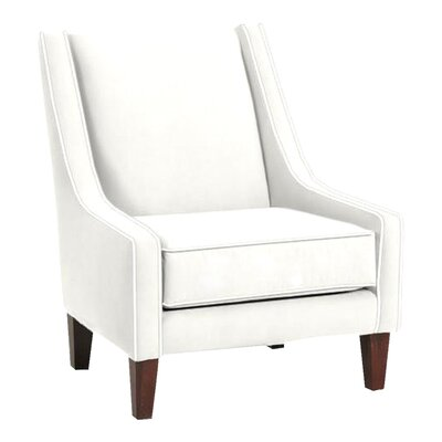 Addison Slipper Chair Upholstery: Classic Bleach White